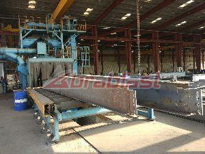Tunnerl Structure Shot Blasting Machine 03