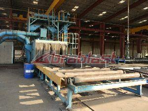 Tunnerl Structure Shot Blasting Machine 06