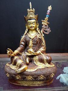 Copper Buddhist Deities Statue