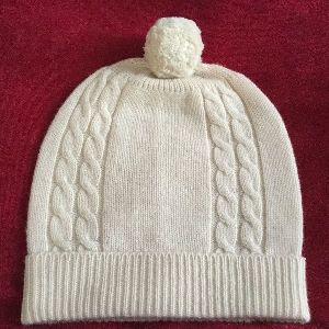 Cashmere Knitted Cap