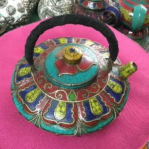 Traditional Tibetan Teapot