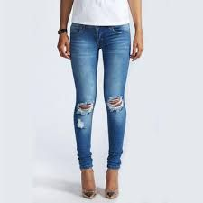 Ladies Rugged Jeans