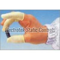 Antistatic Yellow Powder Free Cots