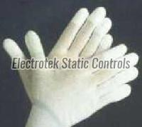 Esd Finger Tip Pu Coated Gloves