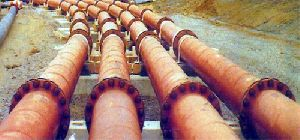 Cast Basalt Lined Pipes And Fittings