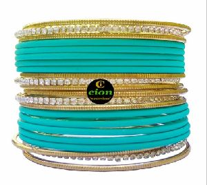 Matte Finish Bangle Set