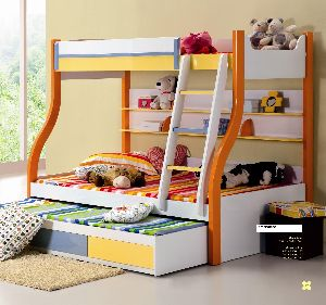 Wooden Kids Bed