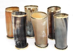 Horn Drinking Glasses