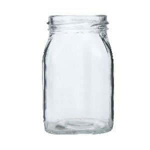 250gm Honey Square Glass Jar