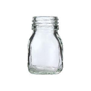 25gm Honey Square Glass Jar