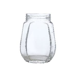 500gm Crown Glass Jar