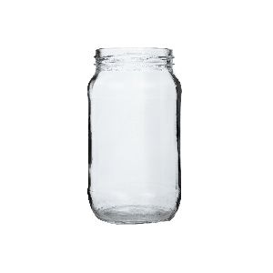 500gm Honey Round Glass Jar