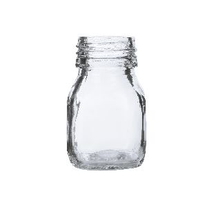 50gm Honey Square Glass Jar