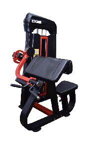K Pro Seated Arm Curl Machine