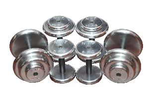 K Pro Hard Chrome Plating Dumbbells