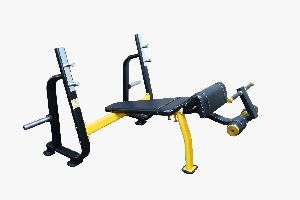 S Pro Olympic Decline Bench Press Machine