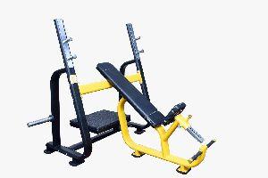 S Pro Olympic Incline Bench Press Machine