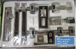 Kachhua Model White Metal Door Kit