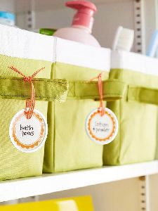 Toiletries Labels