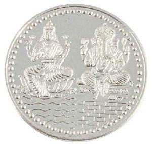 92.5 Sterling Laxmi Ganesh Silver Coin