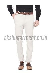 Comfort Fit Cotton Trouser
