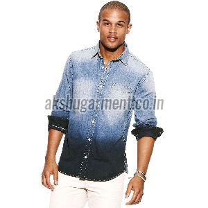 Mens Dyed Shirt