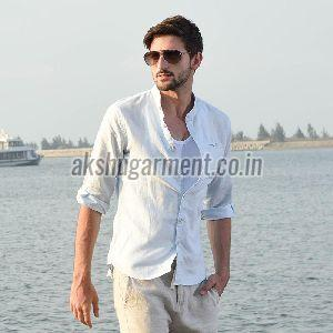 Mens Linen Shirt