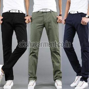 Plain Cotton Trouser