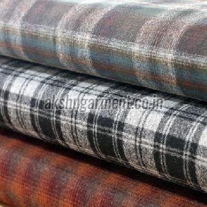Woolen Shirting Fabric