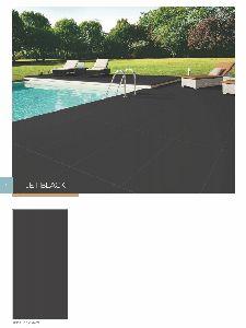 600x1200mm Full Body Vitrified Jet Black Tiles
