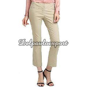 Ladies Cotton Trouser