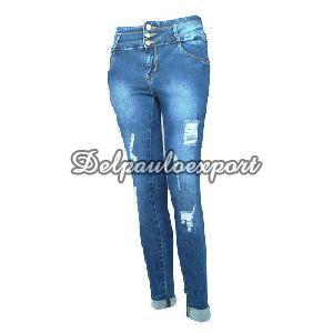 Ladies Fancy Jeans