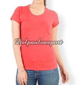 Ladies Half Sleeve T-Shirt