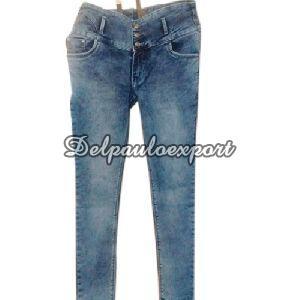 Ladies High Waist Jeans