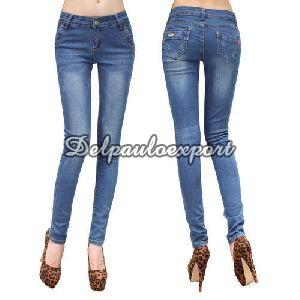 Ladies Narrow Bottom Jeans