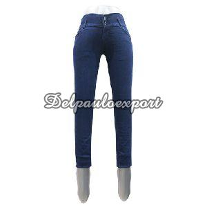 Ladies Plain Jeans