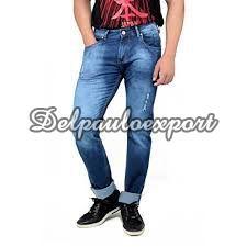 Mens Dobby Jeans