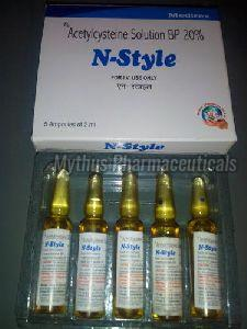 Acetylcysteine Injection