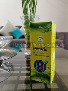 Macacid Anta Acid Syrup