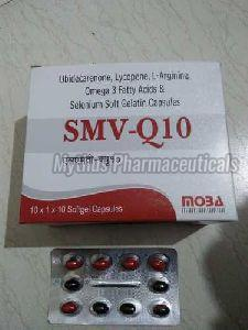 SMV Q-10 Softgel Capsules
