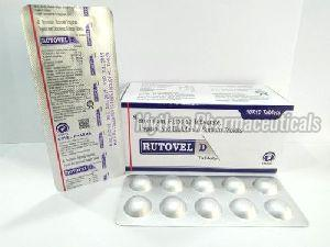 Trypsin Bromelain Rutoside and Diclo SOD Tablets