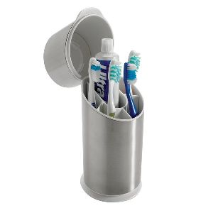 Toothbrush Holder With Lid