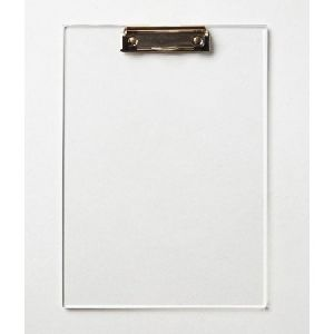 Transparent Super Classic Exam Board