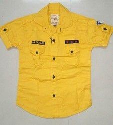 Plain Kids Shirts