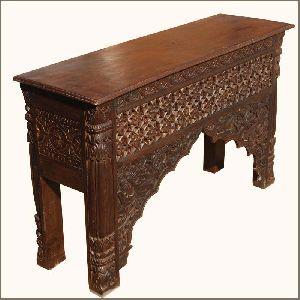 Mango Wood Console Table (SBA052)