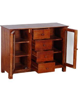 Mango Wood Kitchen Cabinet (SBA040)