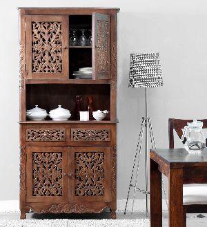Mango Wood Kitchen Cabinet (SBA089)