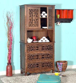 Mango Wood Kitchen Cabinet (SBA098)