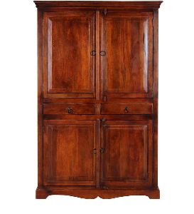 Mango Wood Antique Wardrobe