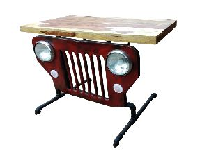 Mango Wood Jeep Console Table (SBA 004)